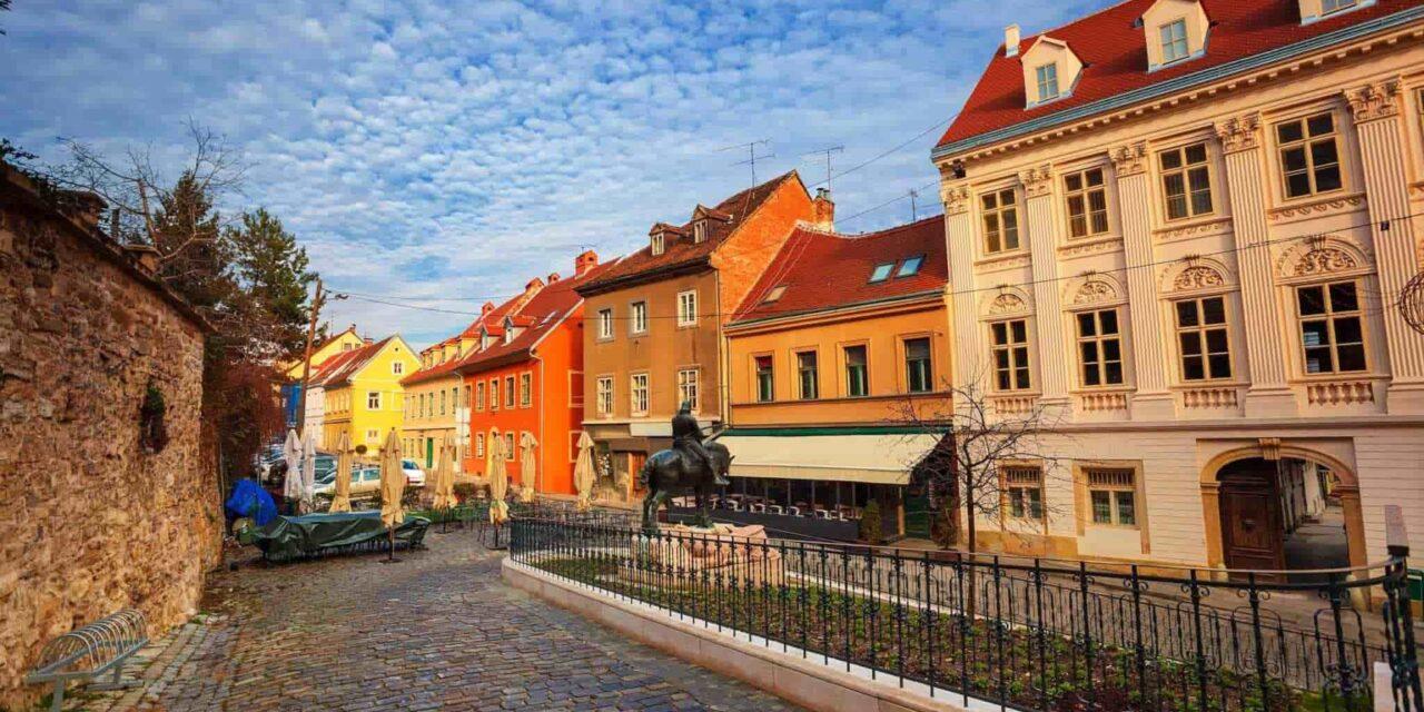Kravatı Bulan Şehir Zagreb