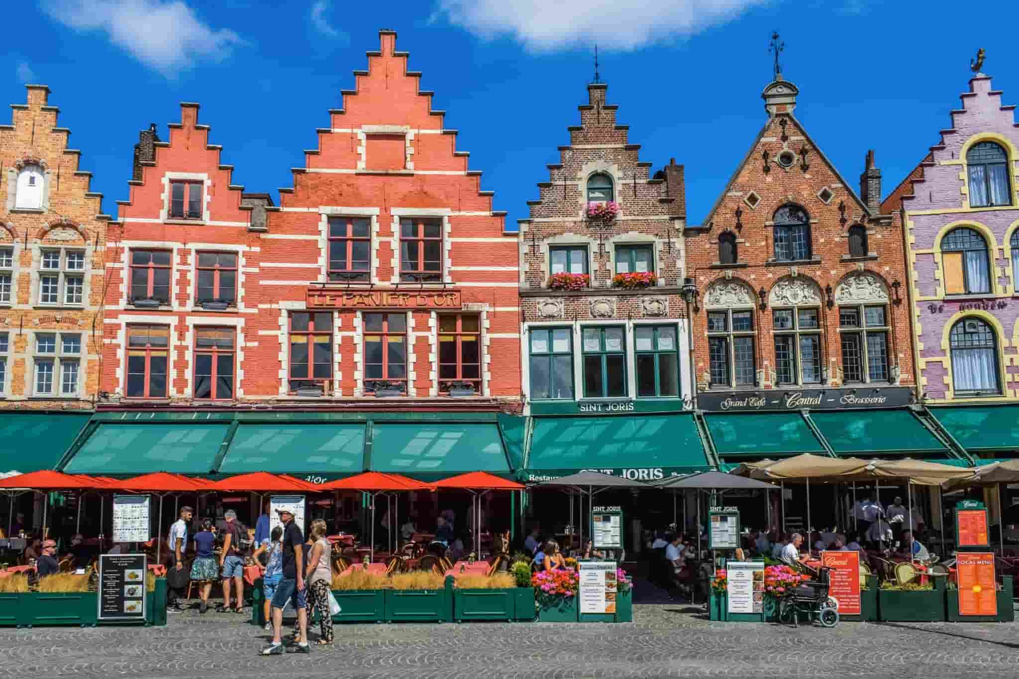 Bir Orta Çağ Şehri Brugge
